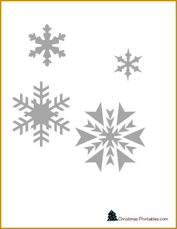 free printable stencil of snowflakes 736569