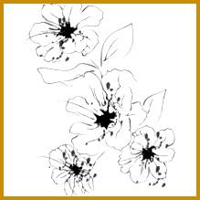 Flower Stencils Printable 219219
