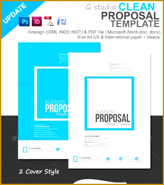 5 web design proposal template free