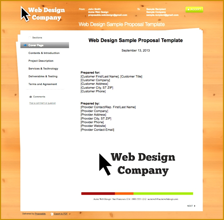 Software Proposal Template Word Software Quote Template Application Screen Shot 2013 09 16 At 4 Software 841859