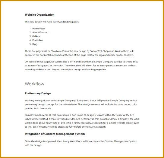 Proposal Template 140 Free Word PDF Format Download Free 544526