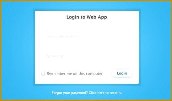 css login form 321548