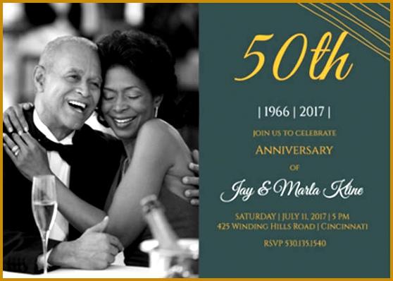 Modern Wedding Anniversary Program Template 398558