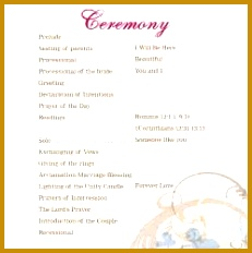 Wedding Anniversary Program Templates FabTemplatez - Wedding anniversary program templates
