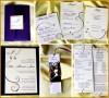 3 Wedding Bookmarks Templates Free