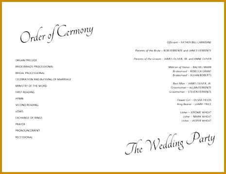 6 wedding program timeline template fabtemplatez