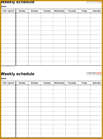 Weekend On Call Schedule Template  Fabtemplatez