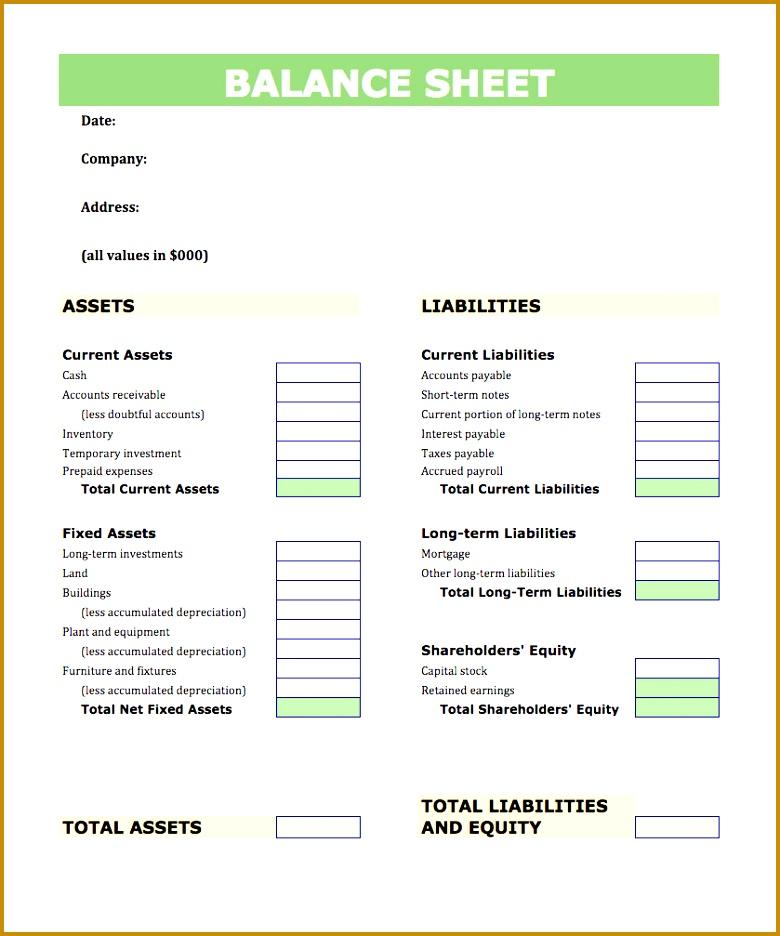 balance sheet template example 936780