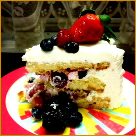 Whole Foods Market Berry Chantilly Cake 446446