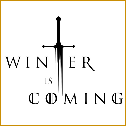 Winter Is ing Game Thrones Vinyl Decal 2 by TheStickerFairy $6 00 530530