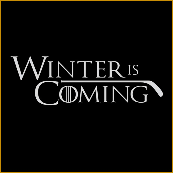 Much like in Game of Thrones Winter is ing 558558