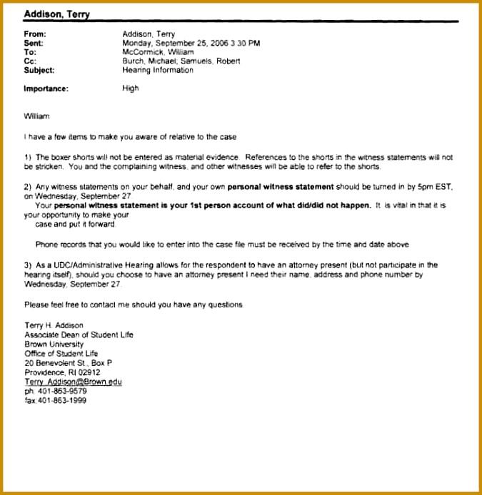 13 Written Statement Format 694675