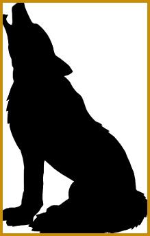 Wolf silhouette by xxchantellexx d3czn9k 219344
