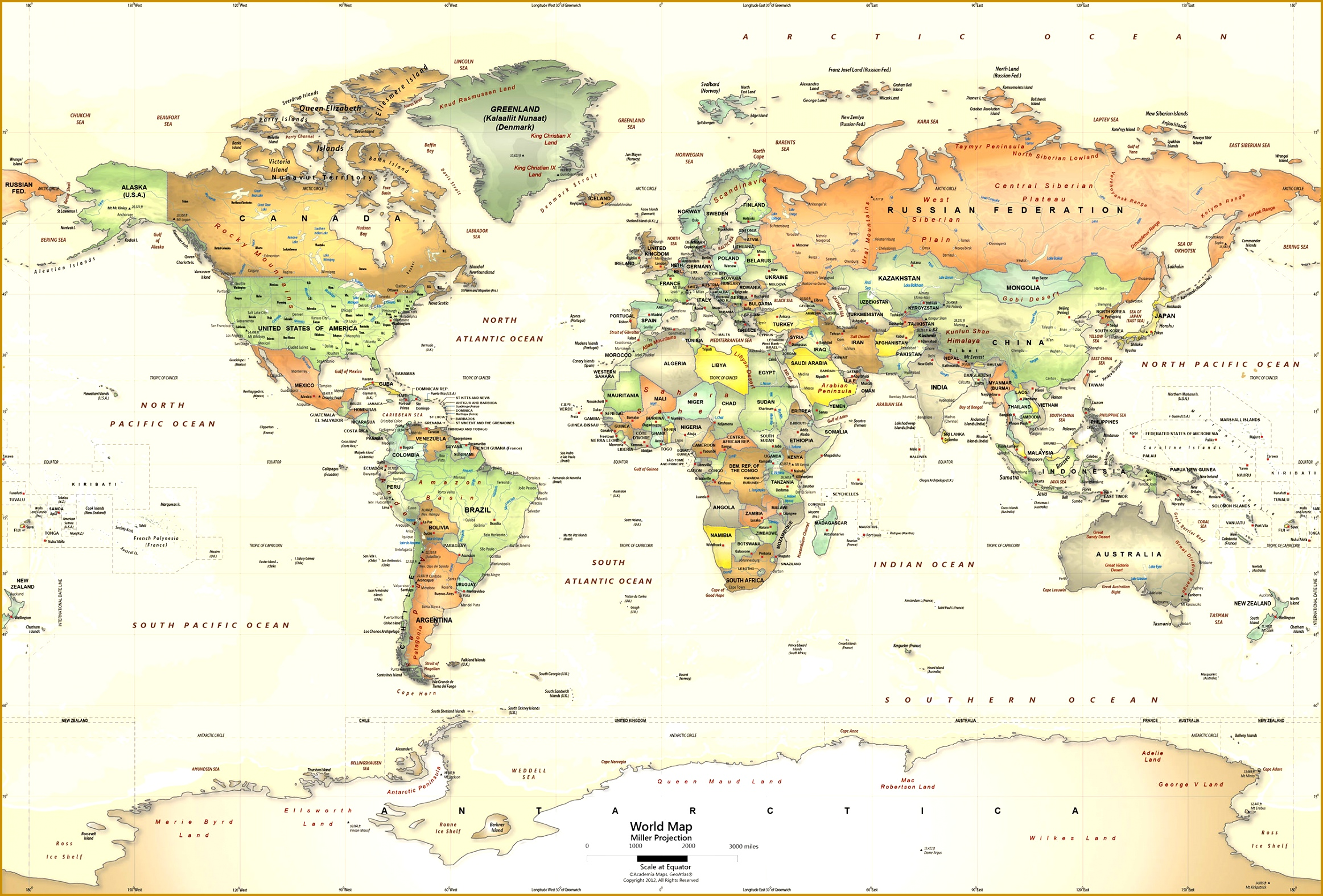 World Wall Maps Within The 15752325