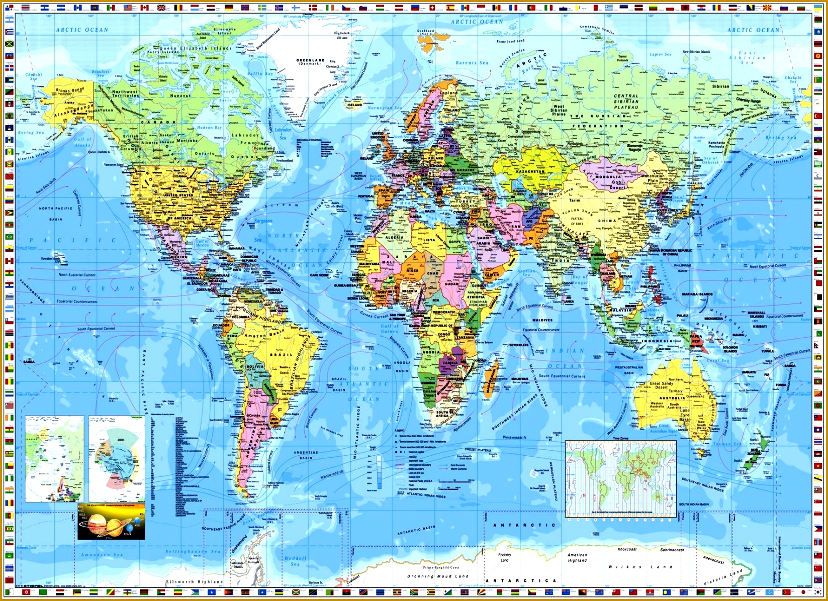 World Map Mural Wallpapers and Background · Download 11961647