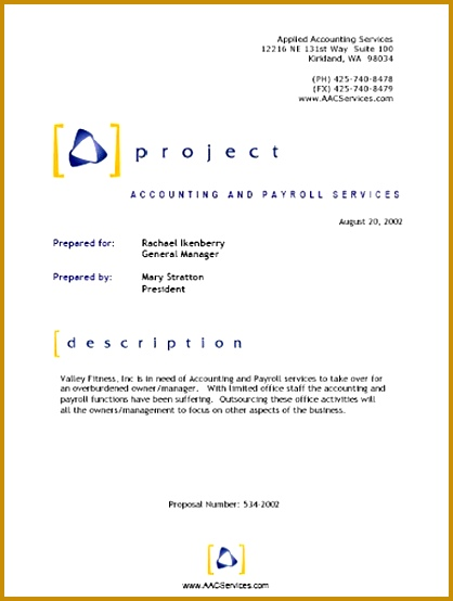 Top 5 Resources To Get Free Project Proposal Templates Word 554418