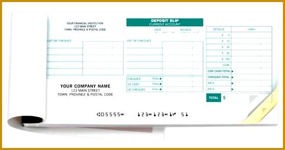 Personalized Deposit Books For RBC Manual Handwritten 558293