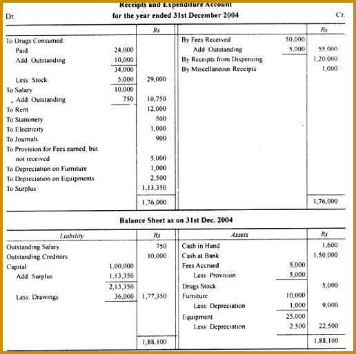 Balance Sheet For Nonprofit Organization  Fabtemplatez