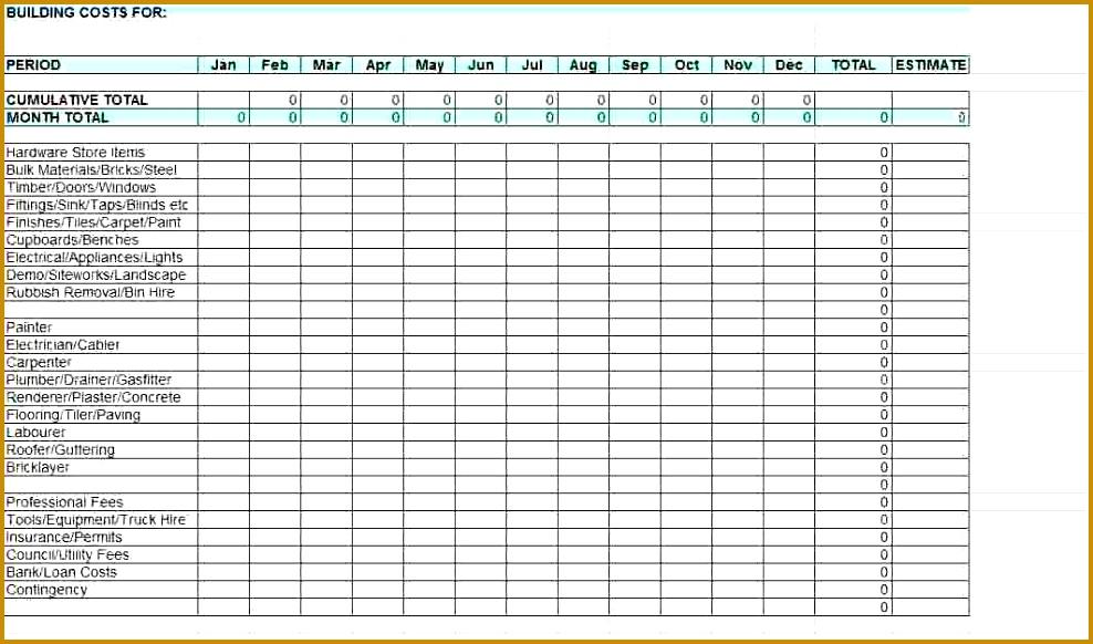 6 Building Maintenance Checklist Template
