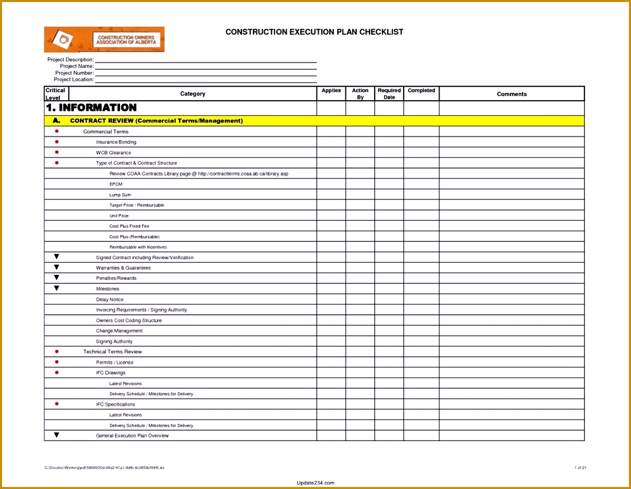 building maintenance checklist 9661246