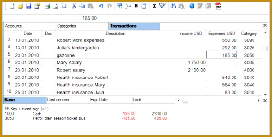 small business ledger 558281