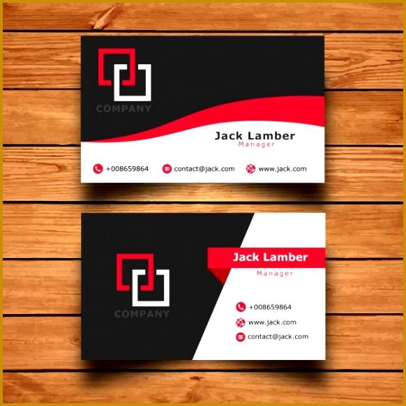 modern simple business card template 582582