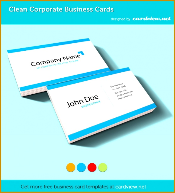 free business card psd template 651588