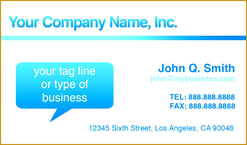 free business card templates 5931011