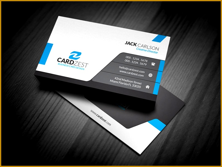 professional business card templates 544725