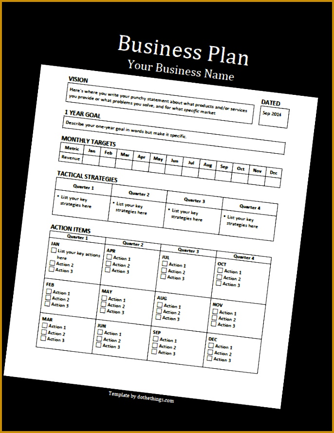 business plan template 686890