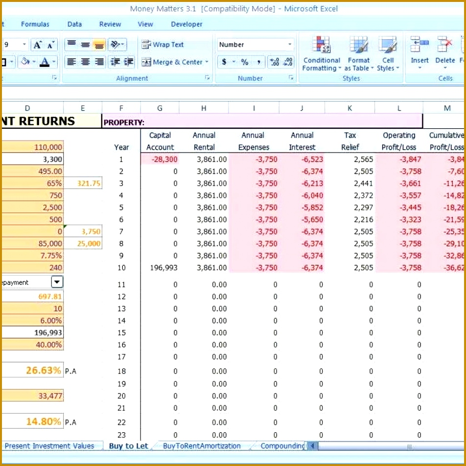 Small Business Expenses Spreadsheet Template 952952