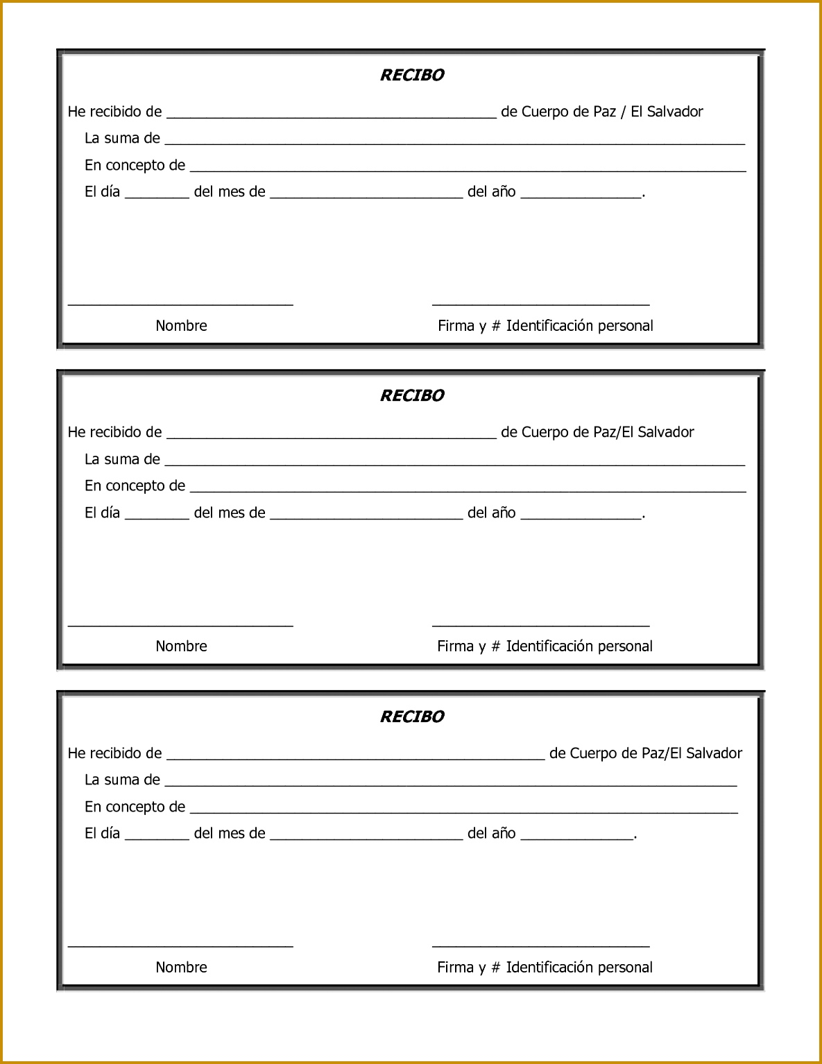 Home · Personal Template · Free Printable Sample Donation Form And Template 11851534