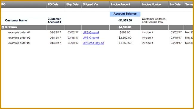 Customer Order Tracking 366651