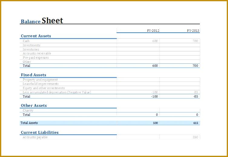 yearly parison balance sheet 520753