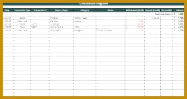 checkbook register spreadsheet 143270