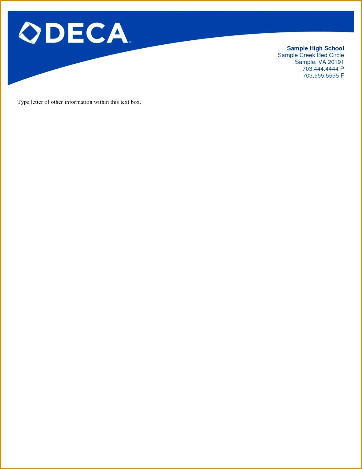 post business letterhead templates 15341185