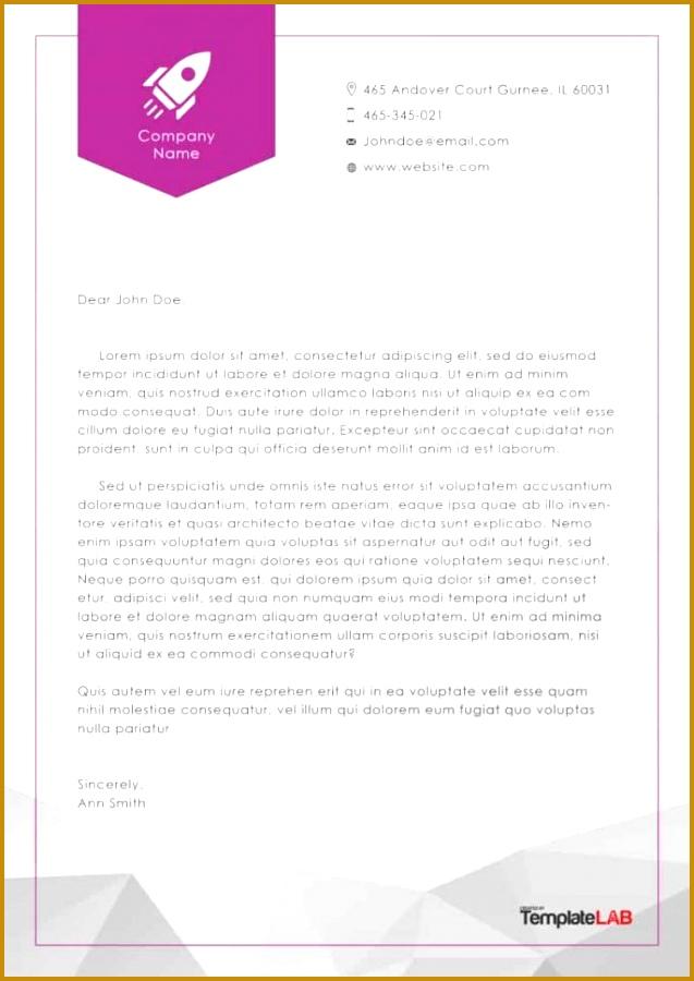 letterhead templates 637900