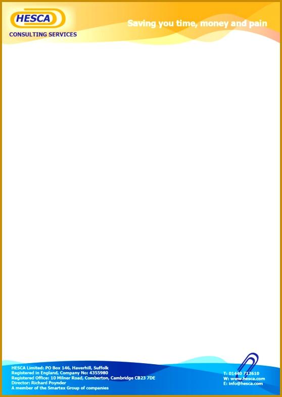 pany letterhead template 786558
