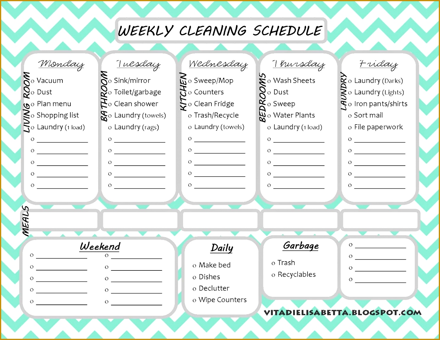 8 daily cleaning checklist template fabtemplatez fabtemplatez house cleaning checklist excel 14881149 pronofoot35fo Images