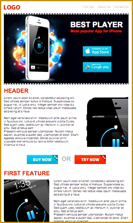 microapps newsletter example 744446