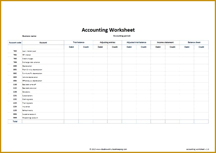 Simple Accounting Spreadsheet Template Free Excel Accounting 529747