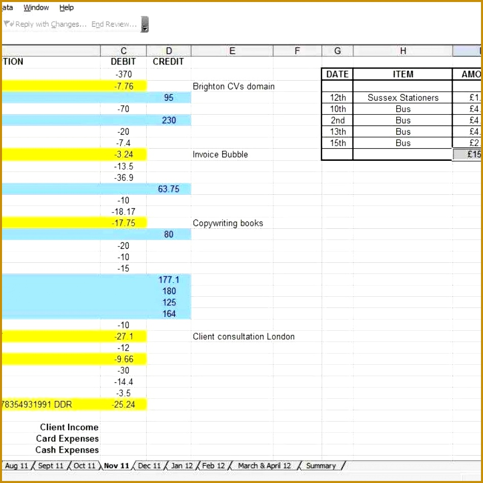 In e And Expense Spreadsheet Template Excel 952952