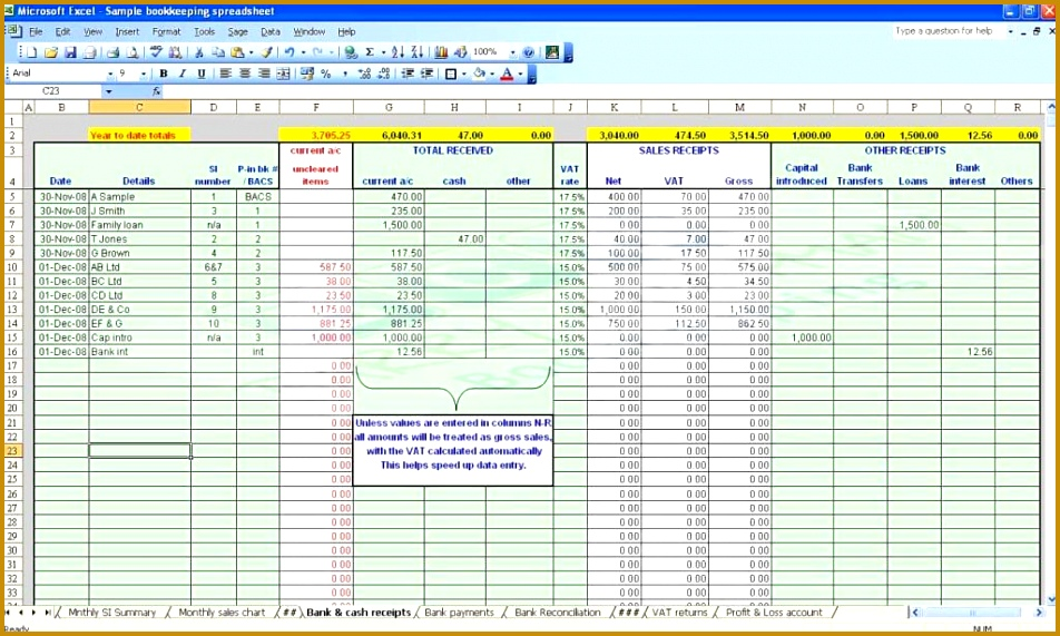 Example Business Expenses Spreadsheet Sample Business Expenses Spreadsheet And Annual Business Bud Template Excel 571952