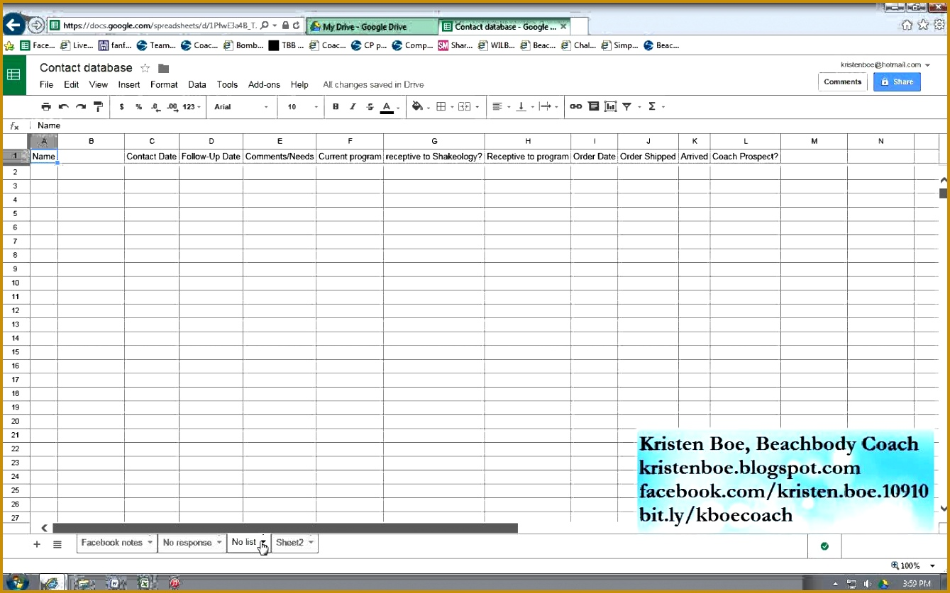 Client Tracking Spreadsheet 8371339