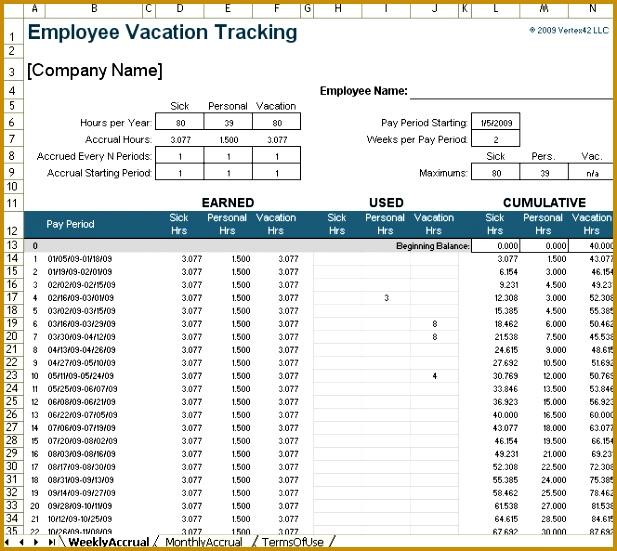 Vacation Tracker 617551