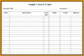 8 excel general ledger template 189286