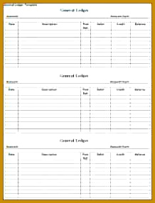 8 general ledger account template excel 218286