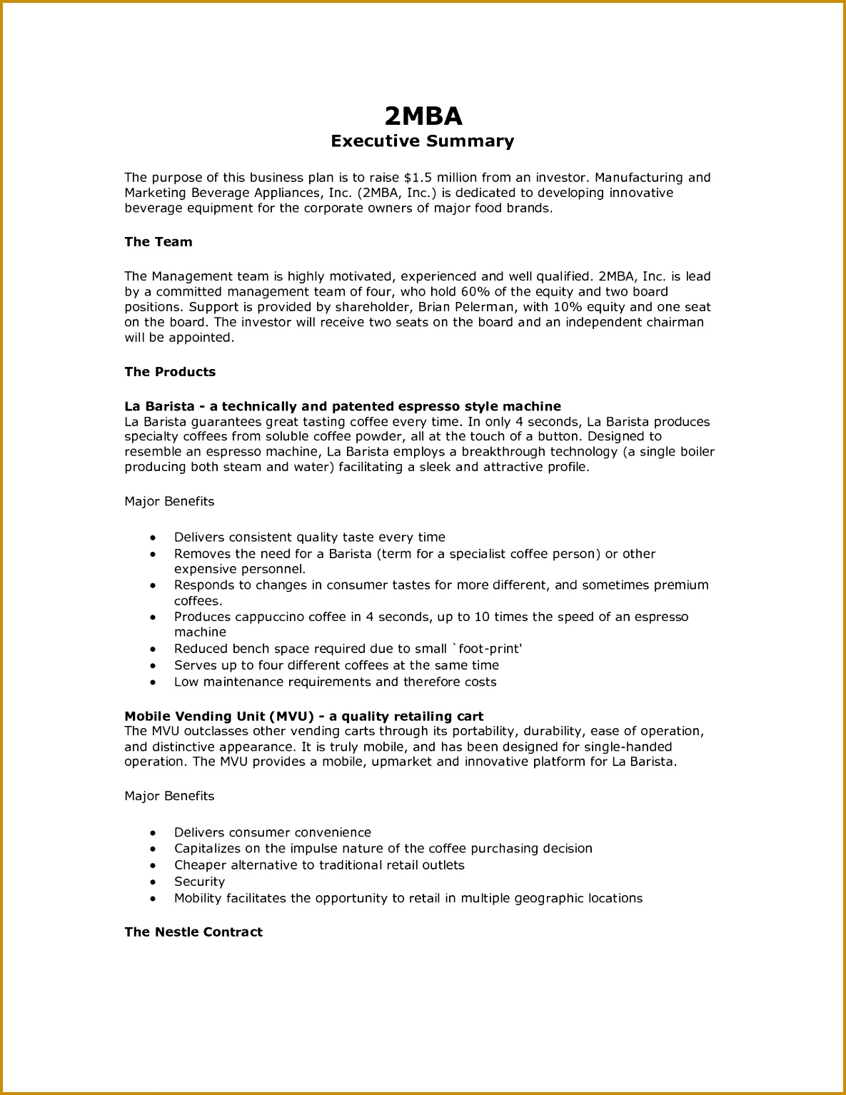 how to write an executive summary example for your proposal 11851534