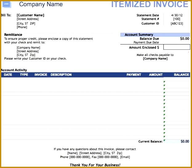 Itemized Invoice Template Example Fake Utility Bill Free Uk Dental Invoic Dollar Receipt Hospital Phone Fake 544624