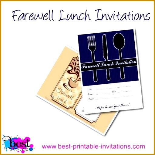 farewell lunch invitation 511511